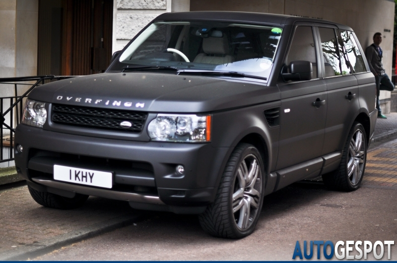 Favoriet Land Rover Overfinch Range Rover Sport Supercharged - 18 May 2011  AG19
