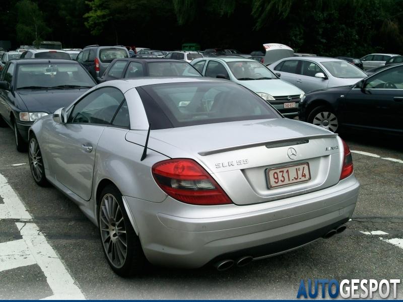 Mercedes benz slk 55 amg r171 2007 18 july 2011 autogespot for 2007 mercedes benz slk