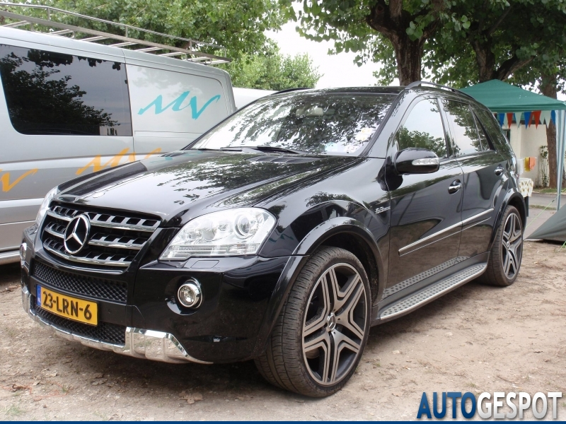 Mercedes Benz Ml 63 Amg W164 2009 29 July 2011 Autogespot