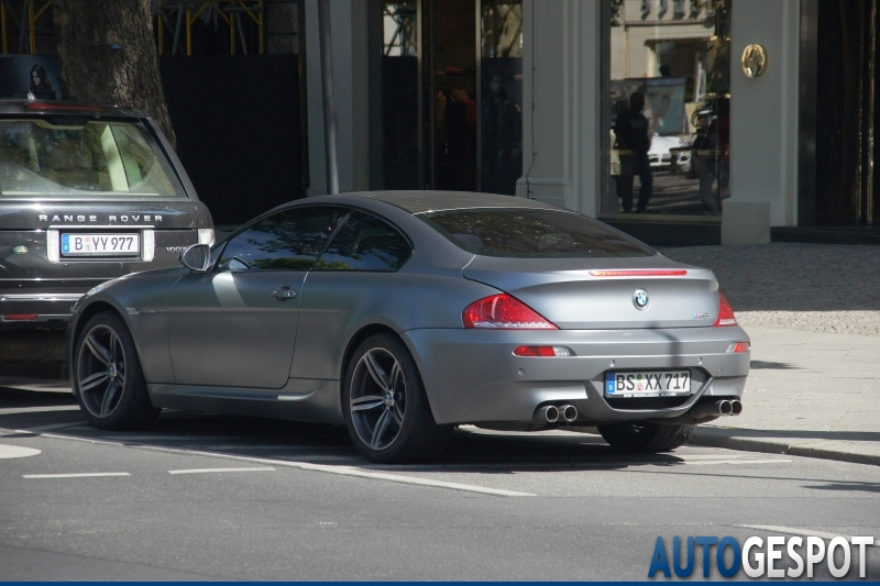 Bmw M6 Competition Limited Edition 20 August 2011