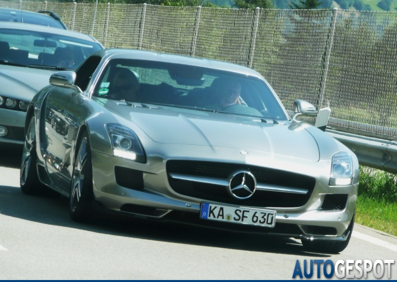 Mercedes-Benz Brabus SLS AMG 4