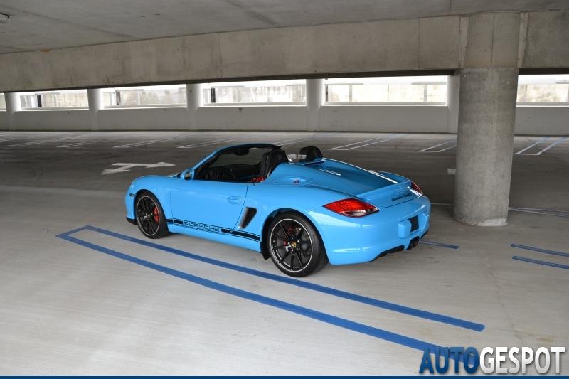 Porsche Boxster Spyder 30 August 2011 Autogespot