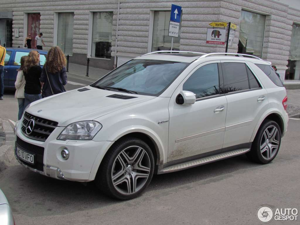 mercedes benz ml 63 amg w164 2009 23 september 2011 autogespot. Black Bedroom Furniture Sets. Home Design Ideas