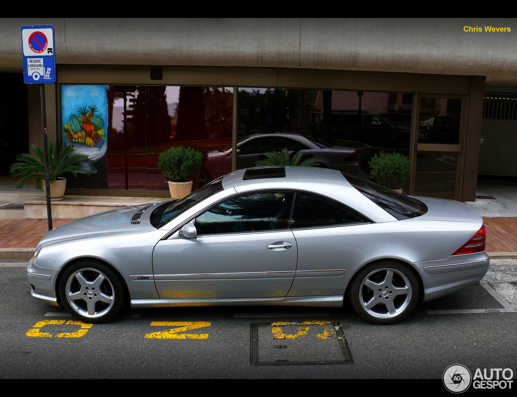 Mercedes benz cl 55 amg f1 limited edition 1 october for Mercedes benz cl 55 amg