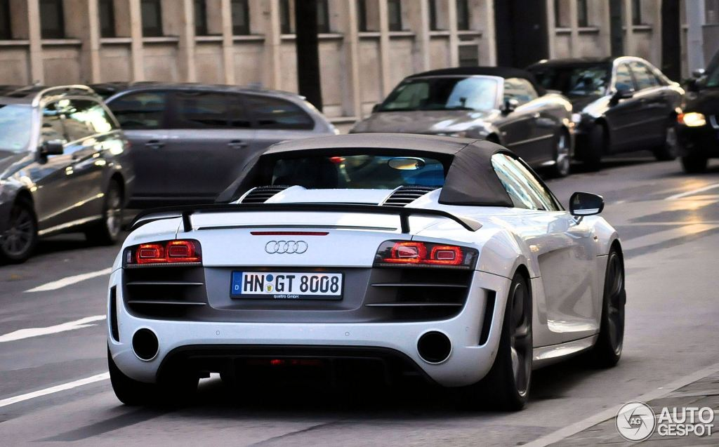 Audi R8 GT Spyder - 12 October 2011 - Autogespot