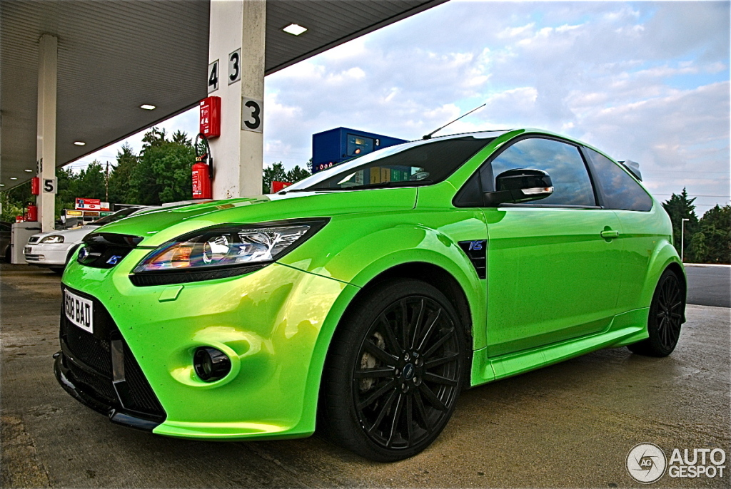 ford focus rs 2009 12 november 2011 autogespot. Black Bedroom Furniture Sets. Home Design Ideas