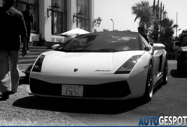 Lamborghini Gallardo Miami Edition Spyder