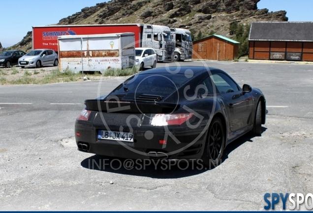 Porsche 991 Turbo Mule