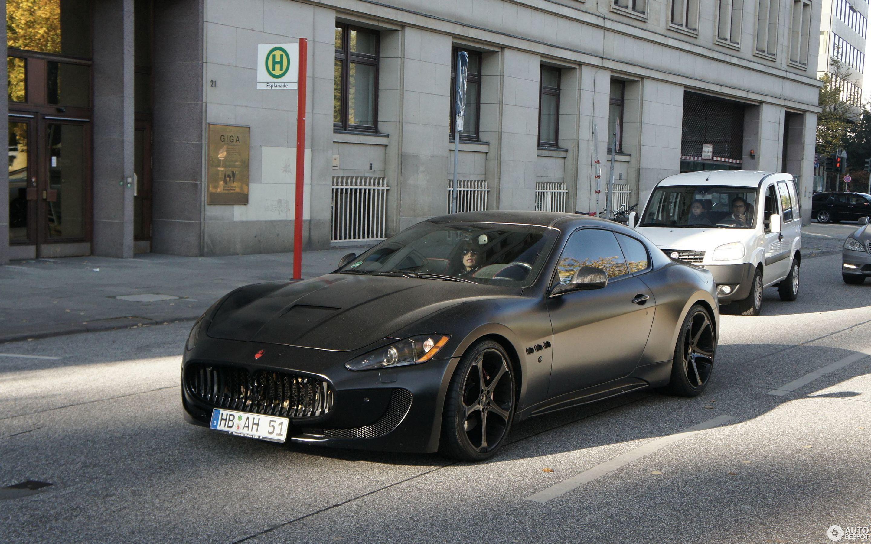 Maserati GranTurismo S Anderson Germany Superior Black Edition